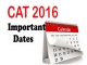 CAT exam date released December 4
