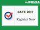 GATE 2017: Online Registration Forms