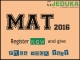 MAT Registrations 2016