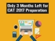 Only 3 Months Left for CAT Preparation