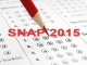 Register for SNAP 2015 before November 24