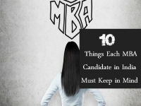 10 Things Each MBA Candidate in India Must Keep in Mind
