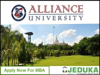 Alliance University admissions 2016: Apply for MBA course