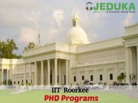 Apply now at IIT Roorkee for PHD Programs
