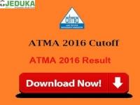 ATMA 2016 Cutoffs & results