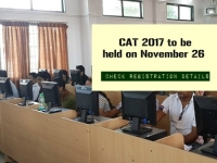 CAT 2017 to be held on November 26: Check registration details