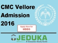 CMC Vellore Admissions 2016: Apply now MBBS courses