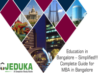 Education in Bangalore - Simplified!!! Complete Guide for MBA in Bangalore