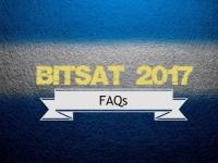 FAQs regarding BITSAT 2017