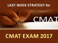 Final Week Strategy for CMAT Exam 2017 From The Experts