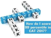 How do I score 99 percentile in CAT?