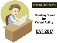 How to improve?? Reading Speed for Verbal Ability CAT 2017
