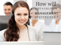 How will I get a call from Management Institutes?