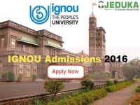 IGNOU Admissions 2016: Apply now