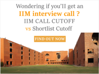 IIM Call cutoff Vs Shortlist cutoff - check here the huge difference