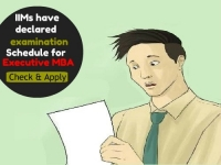 IIMs have declared examination Schedule for Executive MBA: Check here