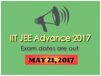 IITs to Conduct JEE Advanced 2017 on May 21