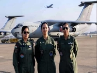 India is the country with maximum number of women pilots in the world
