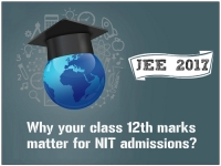 JEE Top 2017 - Why your Class 12th marks matter for NIT admissions?