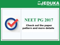 NEET PG 2017: Click and Check out paper pattern and more details