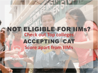 Not eligible for IIMs? Check out Top colleges accepting CAT score apart from IIMs
