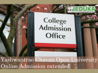 Online admission period for courses at Yashwantrao Chavan Open University has been extended