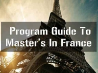 Program Guide To Masters In France