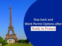 Stay back and Work Permit Options after Study in France