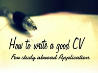 Tip to write best Resume/CV for Studying Abroad Application