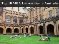 Top 10 MBA Universities in Australia