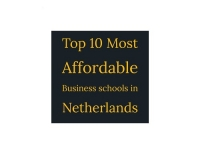 Top 10 Most Affordable Business Schools in Netherlands