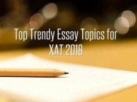 Top Trendy Essay Topics for XAT 2018