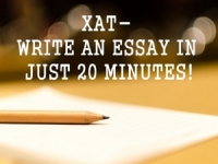 XAT 2017: Strategy to Write Essay in 20 Minutes