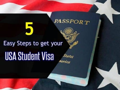 5 Easy Steps to Get Your USA Student Visa