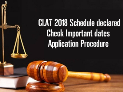 CLAT 2018 Schedule declared: Check Important dates and application Procedure