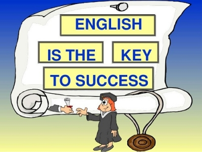 Is English the key to success?