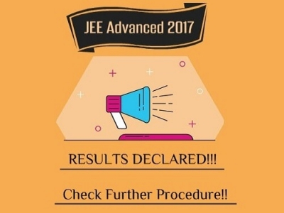 JEE Advance Result Declared!!! Check here the Further Procedure!!