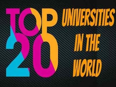 Top 20 Universities in the World