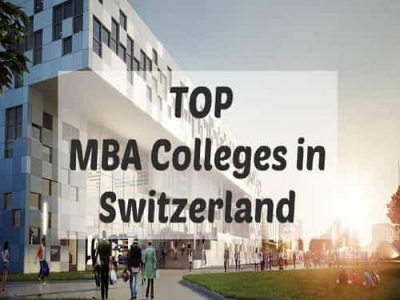 Top MBA Colleges in Switzerland