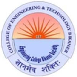 Govt College of Engineering & Technology, (GCET) Bikaner