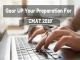 Gear UP Your Preparation For CMAT 2018