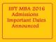 IIFT Entrance Exam 2016