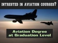 Aviation Degree at Graduation Level