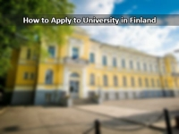 How to Apply to Universities in Finland?