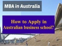 MBA in Australia : How to Apply in Australian business school?