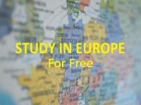 Study in Europe for FREE 2019 - 2020