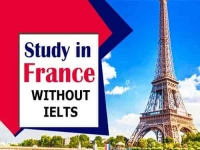Study in France without IELTS