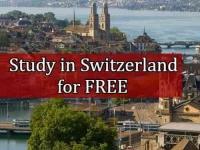 Study in Switzerland for FREE