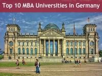 Top 10 MBA Universities in Germany