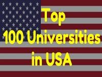 Top 100 Universities in USA 2019-20